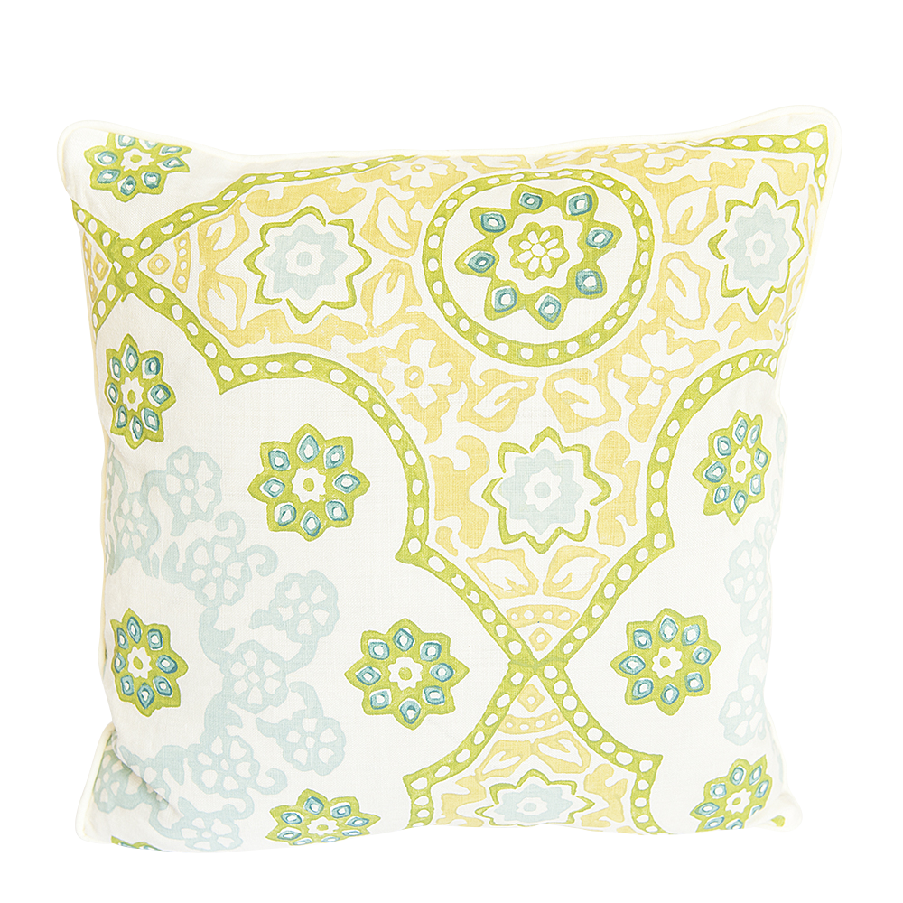 Seville Medallion Kiwi Pillow