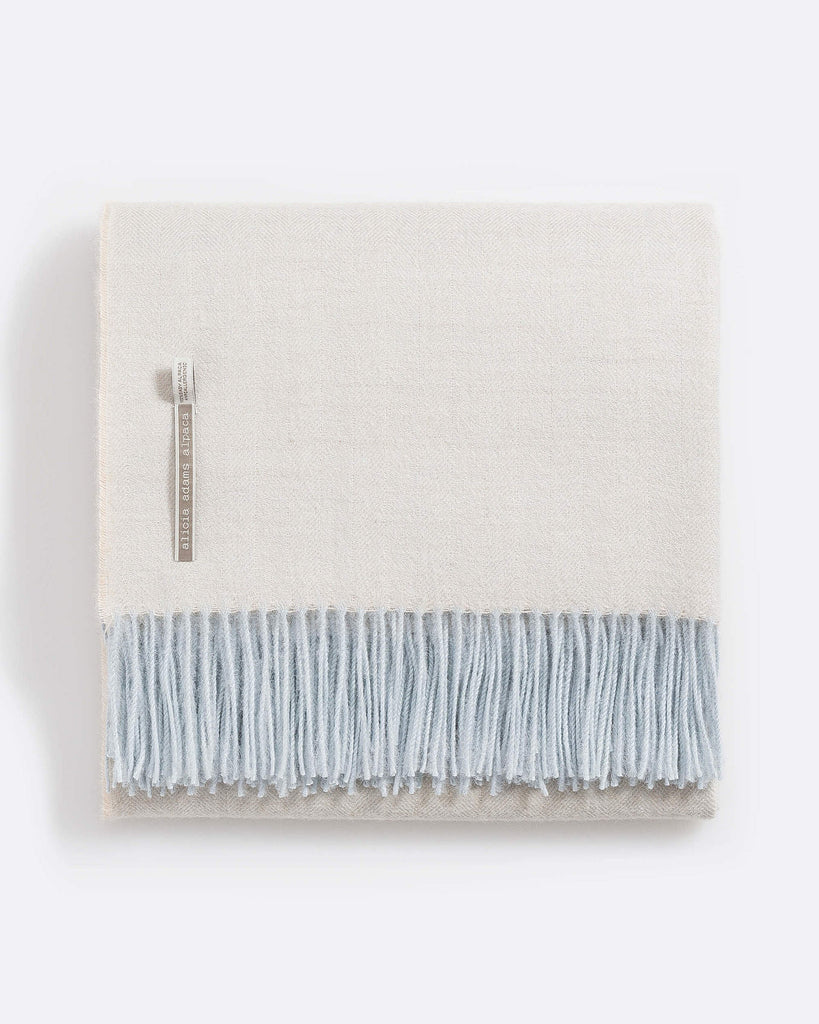 Alicia Adams Classic Alpaca Throw