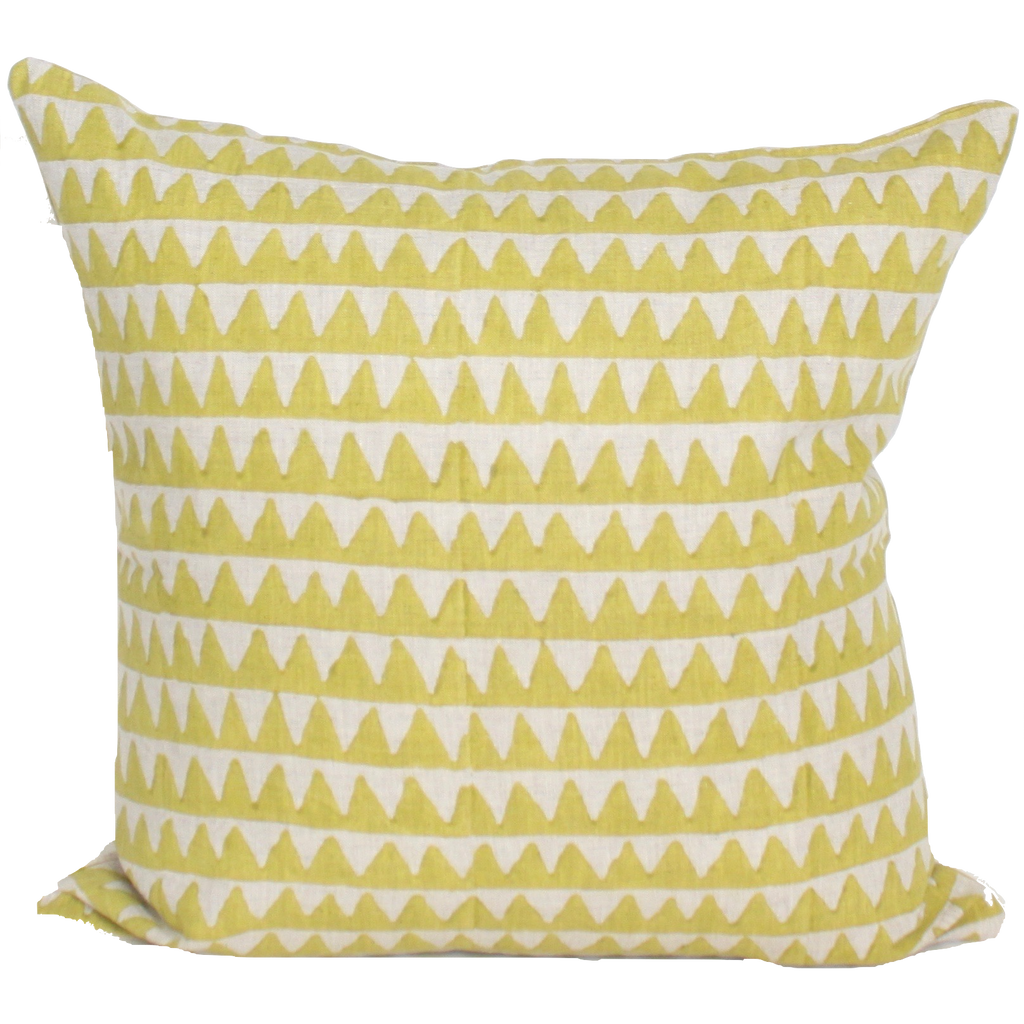 Pyramids Pistachio Pillow