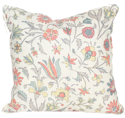 Tatiana Coral Pillow Cover