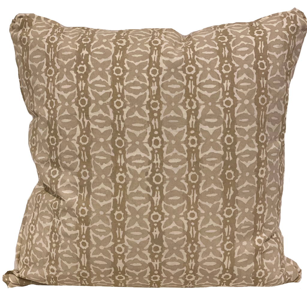 Monarch Light Flax Pillow