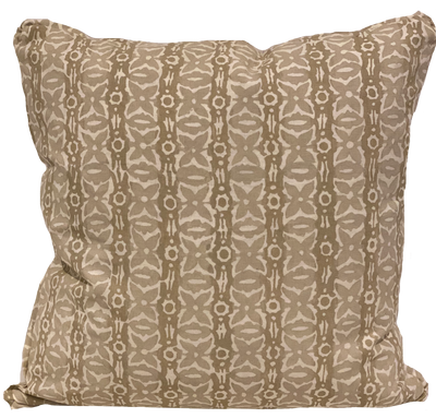 Monarch Light Flax Pillow Cover