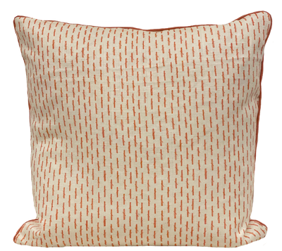 Little Bamboo Coral Pillow