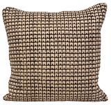 Fez Black on Tan Pillow