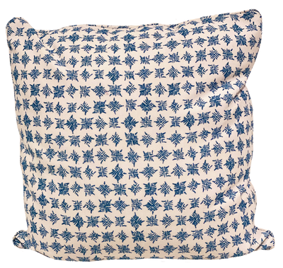 Firefly Outdoor Ocean Blue Pillow