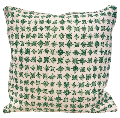 Firefly Outdoor Lizard Green Pillow