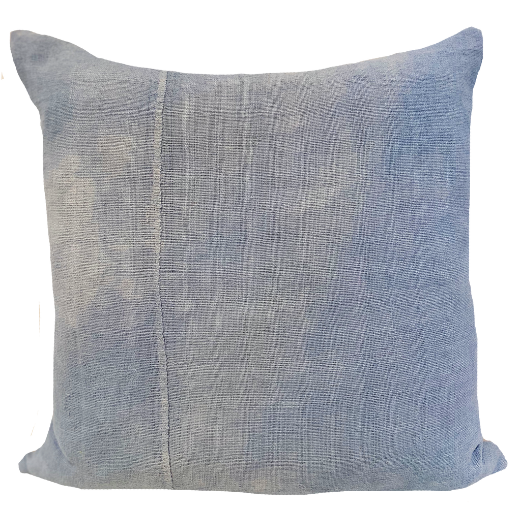 Vintage Linen French Blue Pillow (pair)