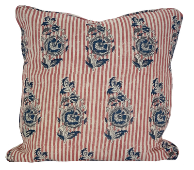 Indian Flower Pillow