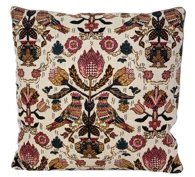 Damour Raspberry Pillow