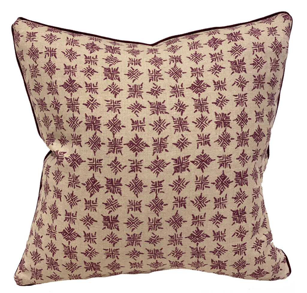 Firefly Plum Pillow