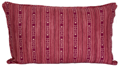 Benghal Stripe Berry Pillow