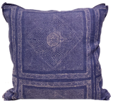 Chunari Blue Pillow