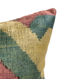 Mojo Velvet Ikat Pillow