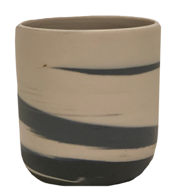 Marbled Slate Votive Cup