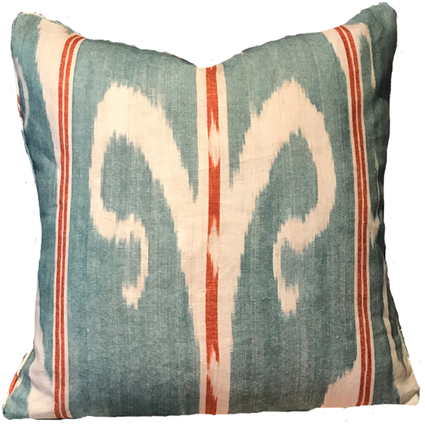Trebizond Celadon Pillow