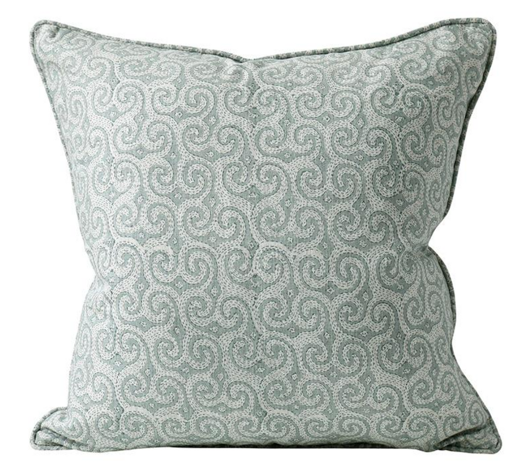 Owando Celadon Pillow