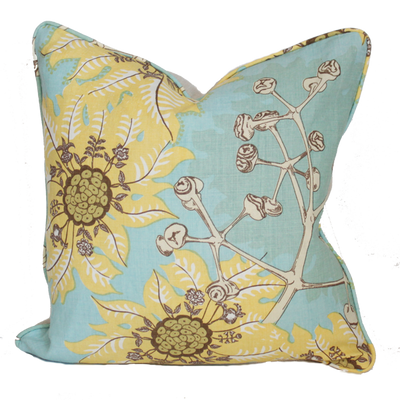 Marquesas Aqua Pillow