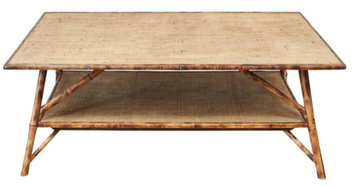 Custom Bamboo Coffee Table