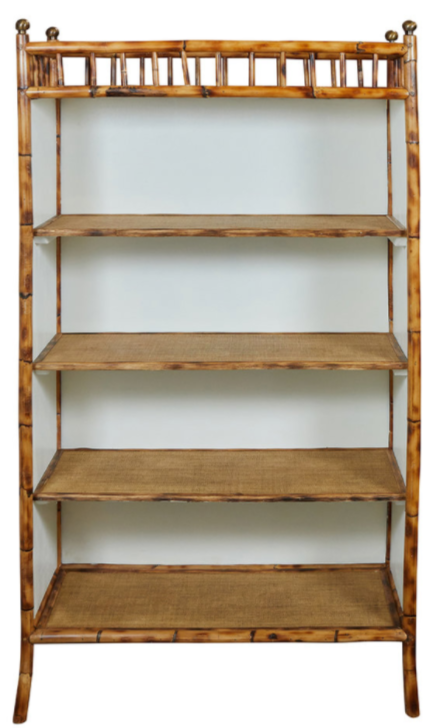 Custom Bamboo Bookcase