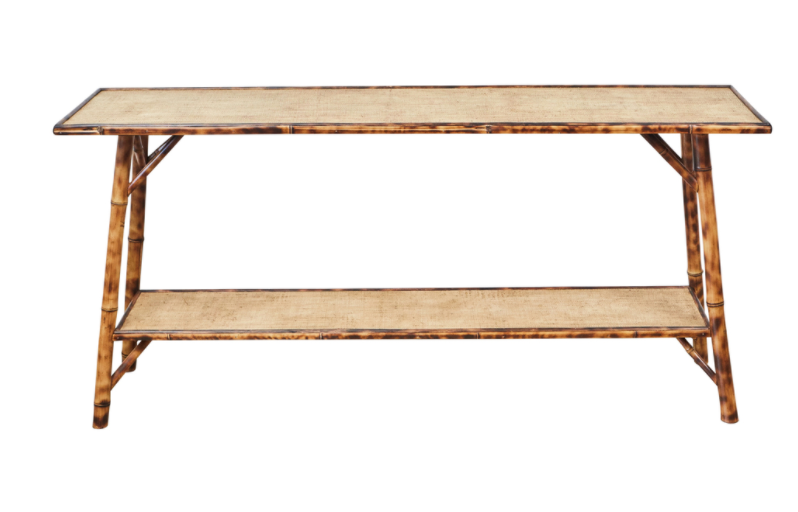 Custom Bamboo Console Table