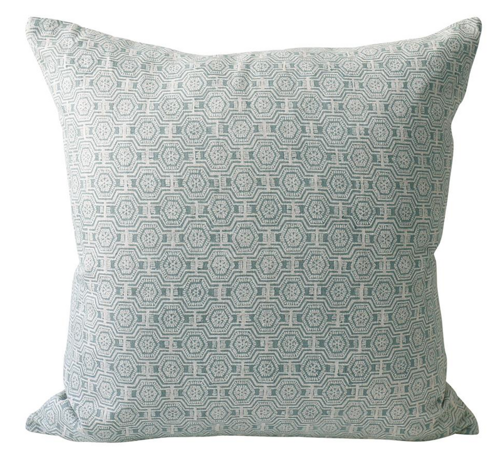 Kiwano Celadon Pillow