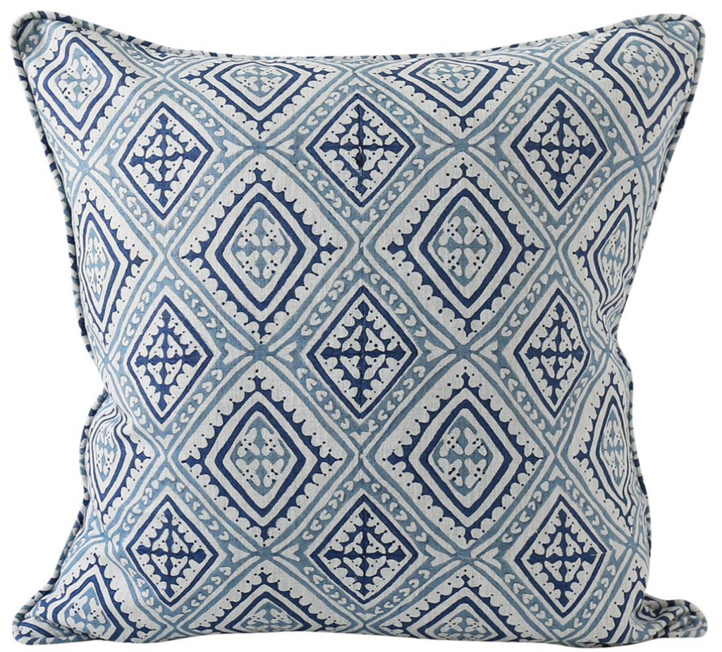 Havana Azure Blue Pillow
