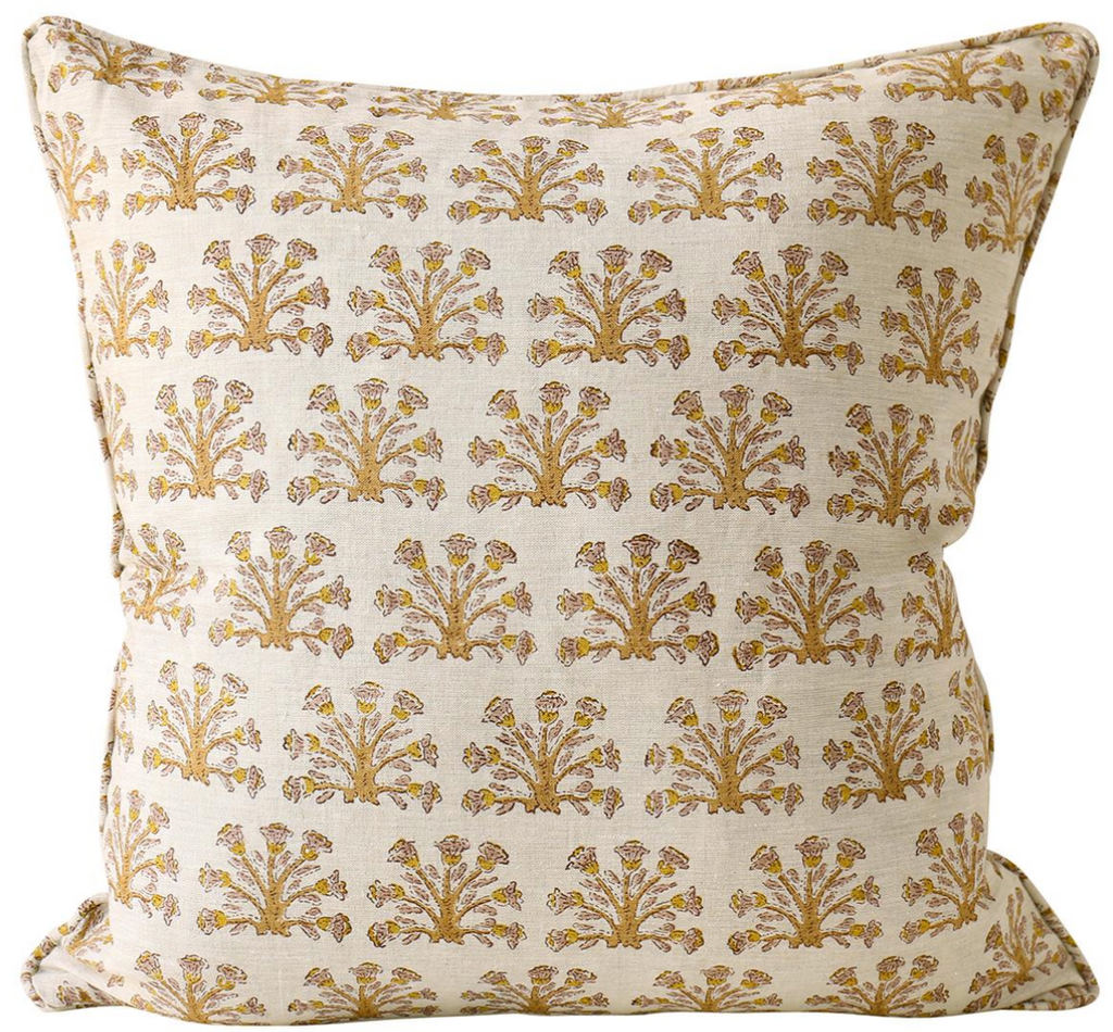 Samode Saffron Pillow