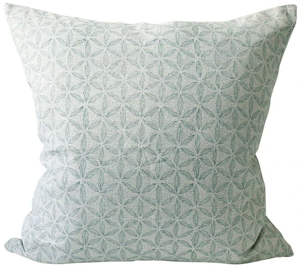 Osaka Celadon Pillow