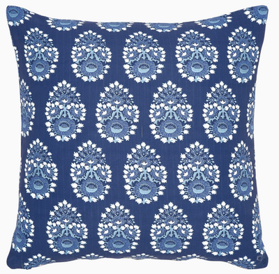 Diwan Outdoor Navy Pillow