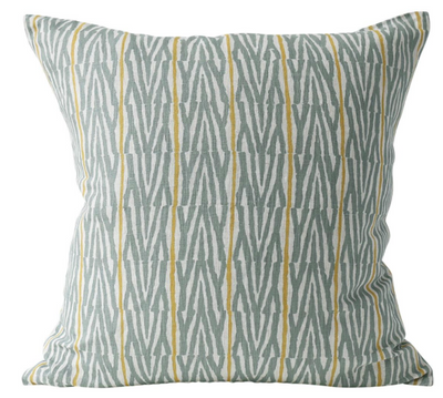 Fuji Celadon Pillow