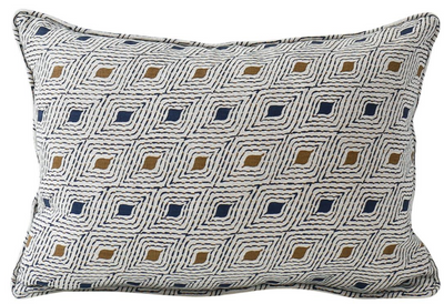 Bengal Tobacco Lumbar Pillow