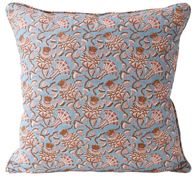 Iznik Winter Bloom Pillow