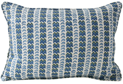 Rambagh Moss Lumbar Pillow