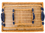 Island Navy Tray - Rectangular