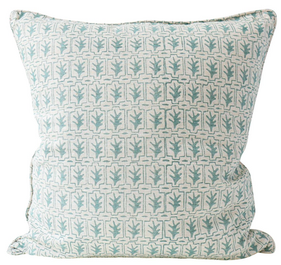 Cassis Celadon Pillow