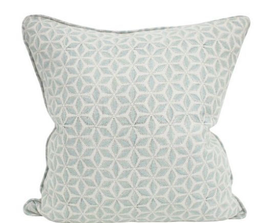 Hanami Light Blue Pillow