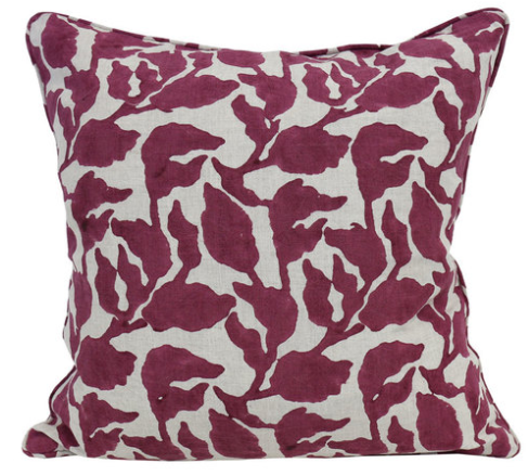 Flores Printed Pillow