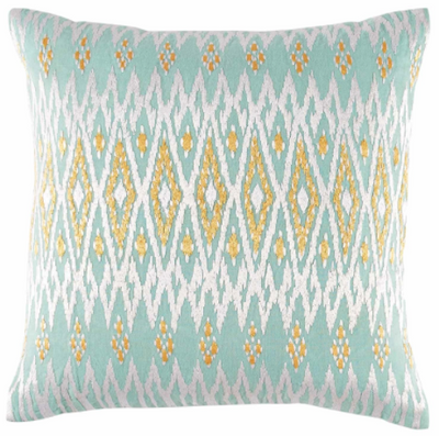 Kasala Light Blue Pillow Cover