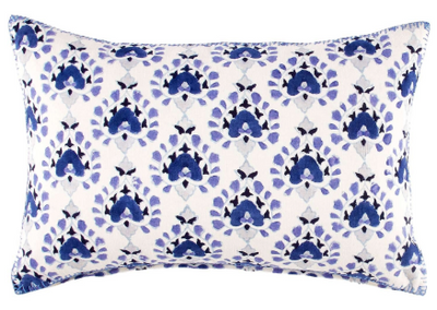 Bilala Blue Pillow