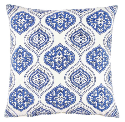 Laleti Blue Pillow