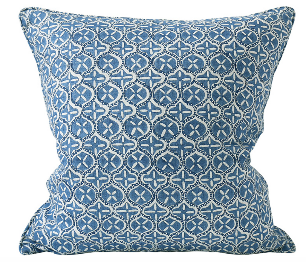 Pasadena Riviera Blue Pillow