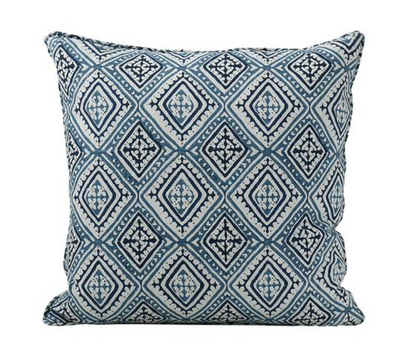 Havana Indigo Blue Pillow