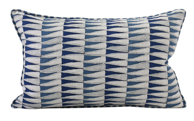 Tangier Denim Pillow