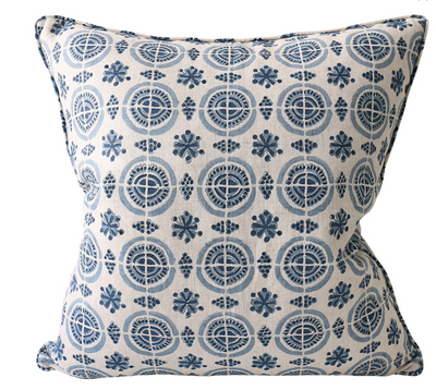Amreli Azure Blue Pillow