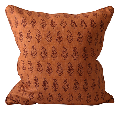 Lucknow Terracotta Pillow