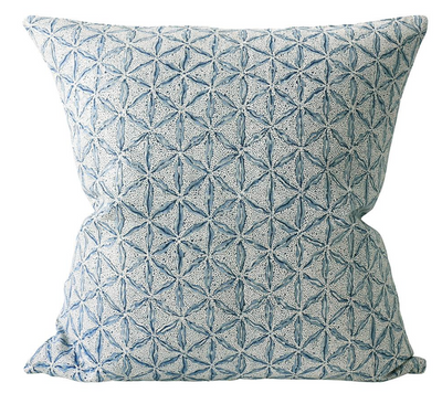 Ozaka Azure Pillow