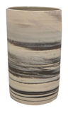 Marbled Grey Vase 8