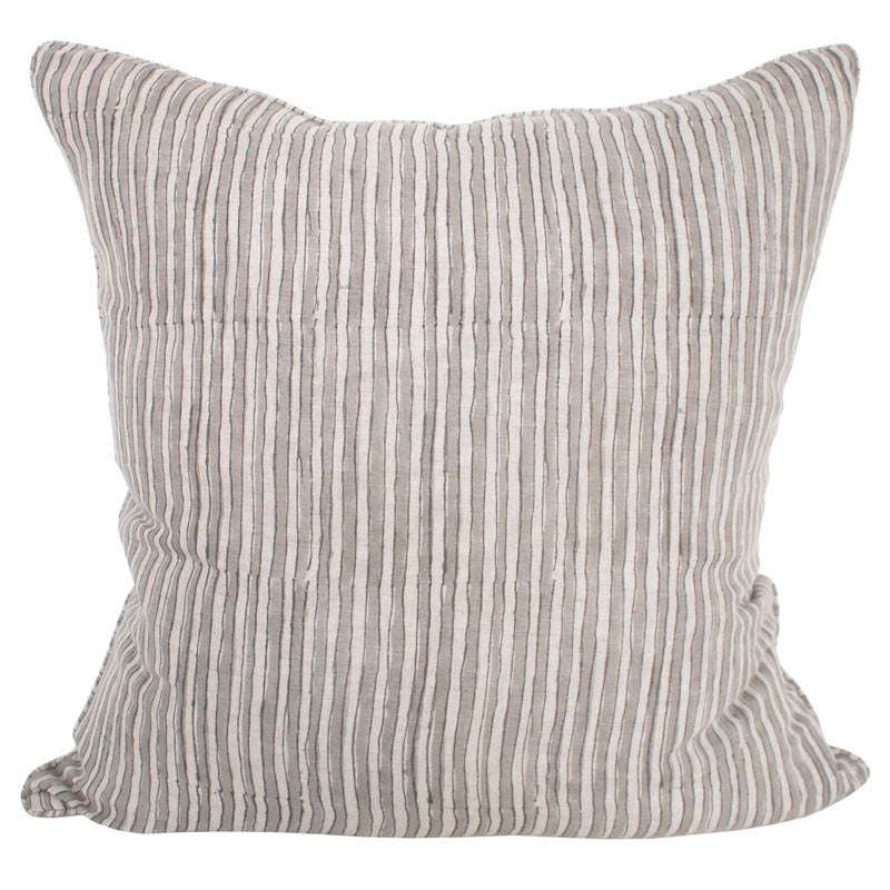 Ticking Stripe Mud Pillow