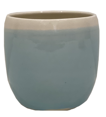 Shades of Blue Votive Cup