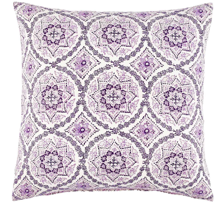 Vesa Purple Pillow